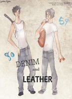 Denim and Leather by GlassSpiderweb