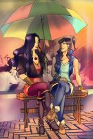 Under My Umbrella by Glory-Day