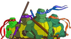 Teenage Mutant Ninja Turtles by Batman316