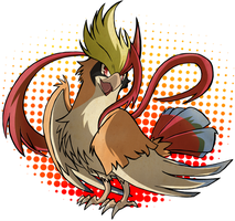 Yo Mega Pidgeot! by SoftMonKeychains