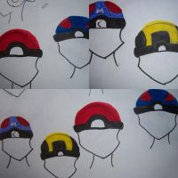 Pokeball Hat Ideas by lighryou