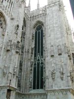 Milano Cathedral II by Ivette-Stock