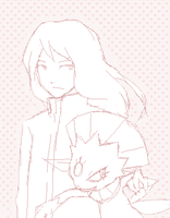 it's not Silver and Weavile by stardroidjean