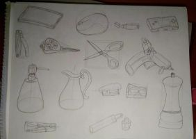College Dump: Object study 1 by ThrowingShadows