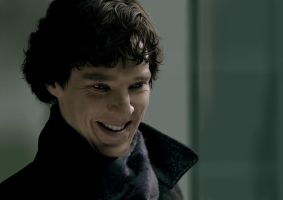 Smile Sherlock by Apollotheneverender