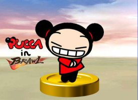 Pucca joins the Brawl by rabbidlover01