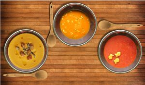 Three Bowls of Soup by muffinn2