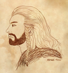 Thorin Oakenshield by goldendragonqueen32