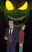 Osborn father and son ( and Boogeyman) by jihef03