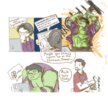 Hulk Mad? by hollarity