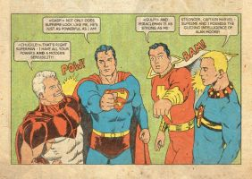Superman-Supreme-Capt. Marvel-Miracleman Langille by Nick-Perks
