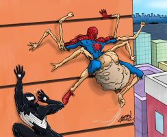 Freaky Spidey by FindingOx