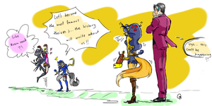 Outlaws Vs People Of The Law by AlexandraAlex