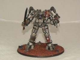 Grey Knights Dreadknight 1 by SpearofSicarius