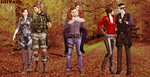 Resident Evil pairings by JillVoth