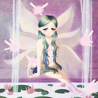 Twilight Princess's Great Fairy by Icy-Snowflakes