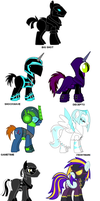 Mare Do Well Villains by GothamScarecrow