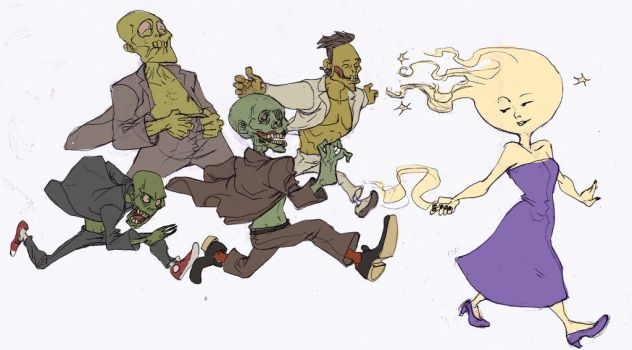 Zombies by salahh