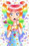 Rainbow Magical Girl by Princess-Peachie