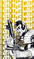 I AM THE LAW by KomicKarl