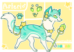 Asteri Reference Sheet by Kitsurie