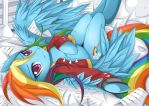 Rainbow Dash by JinZhan