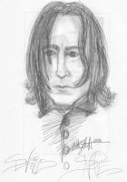 Alan's Snape II by Mistical1