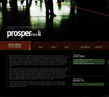 Prosper music web site by sniperyu