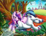 Amorous Cadence and Shining Armor by kcday