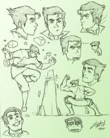 Bolin Sketches by friedChicken365