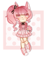 SET PRICE:: Raspberry Pie Bunny by SireFluffButt