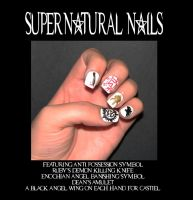 Supernatural Nails by Stephanie-Chivas