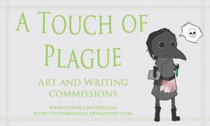 A Touch of Plague - Card by silverwinglie