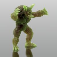Bryce 7.1 Pro - green man creature thingy by davidbrinnen