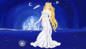 Princess Serenity by anelphia