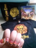 My Lion King Musical Stuff and Nails by MJDisneyGirl