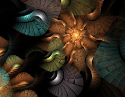 Linked Spiral by obeyyourmaster