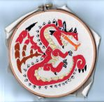 [MH]: Embroidery by ZioCorvid