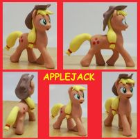 APPLEJACK G4 FIM  Custom Sculpture by MadPonyScientist