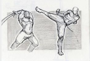 Action Poses by Torres-PT