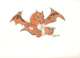 Baby Dragon by italianstyle