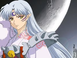 Sesshomaru - Dark Moon by Xpand-Your-Mind