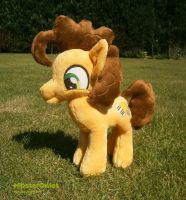 Handmade Cheese Sandwich Plushie by HipsterOwlet
