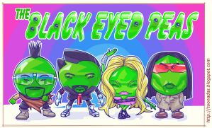 Black Eyed Peas by Ferlancer