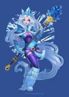 Ice Maiden! by O-l-i-v-i