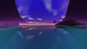 Blue Valley by Topas2012