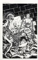Punisher 33 cover 1990 by BillReinhold