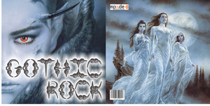Gothic Rock CD Cover by CmdrKerner