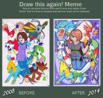 Meme: Before After by Melody714