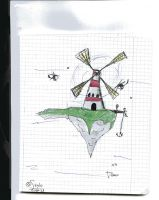 ...Windmill, Windmill for the land... by Stylo-Cyborg